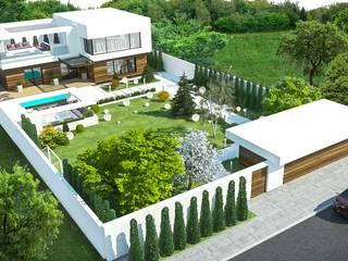 Rumah Modern Oleh NK design studio Modern