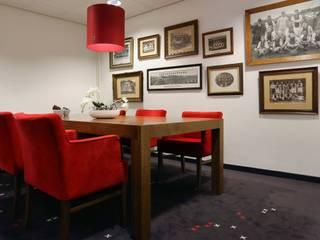 Kantoren AFC AJAX Amsterdam:  Kantoorgebouwen door STUDIO CBiD, Modern