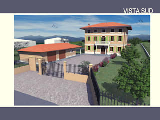 Residenza unifamiliare Case classiche di Studio Tecnico Treppo Alberto Classico
