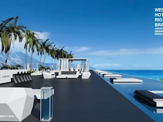 Проект Wellness Spa Hotel, Rio De Janeiro, Brasil: Гостиницы в . Автор – Svetozar Andreev Architectural Studio: Hotei-Russia
