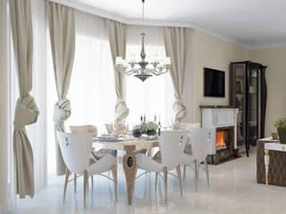 Частный дом в Краснодарском крае. Столовая комната в классическом стиле от elitdizayn Классический