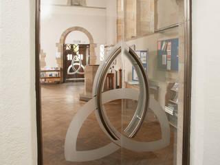 Frameless Glass Doors for Holy Trinity Church Modern windows & doors by DoorTechnik Ltd Modern