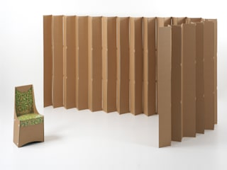Raumteiler aus Karton: modern  von kartondesign.ch,Modern