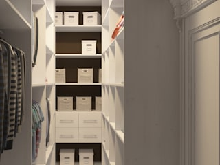 Classic style dressing room by elitdizayn Classic