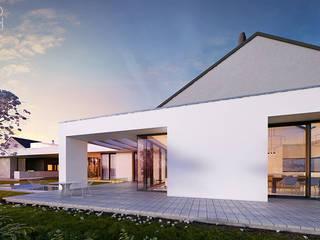 PORTRET WSPÓŁCZESNOŚCI: styl , w kategorii Domy zaprojektowany przez Pracownia projektowa artMOKO