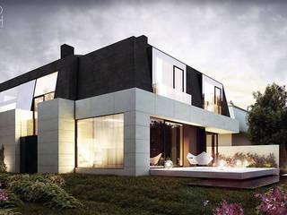 Rumah Modern Oleh Pracownia projektowa artMOKO Modern