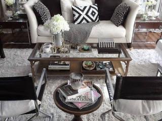 Phòng khách phong cách mộc mạc bởi Tadilat Firması Mộc mạc