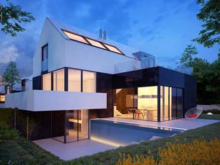 Pracownia projektowa artMOKO 現代房屋設計點子、靈感 & 圖片