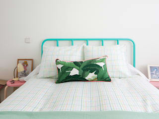 www.rocio-olmo.com Tropical style bedroom