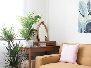 Salas de estar ecléticas por www.rocio-olmo.com Eclético