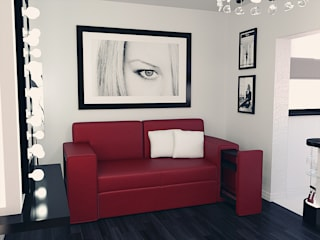 Room design: Спальни в . Автор – Дмитрий Максимов, Модерн