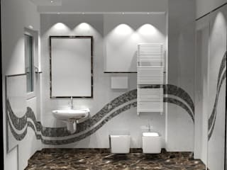 Moderne Badezimmer von STUDIO QUARANTA Modern
