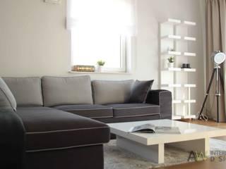 Salones de estilo moderno de AW INTERIOR DESIGN Moderno