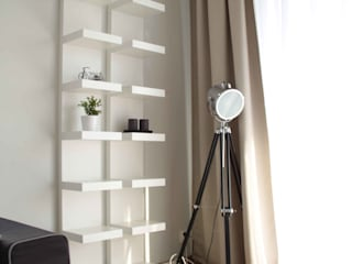 modern Living room by AW INTERIOR DESIGN