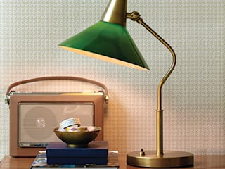 Table Lamps Studio moderno di Herstal A/S Moderno