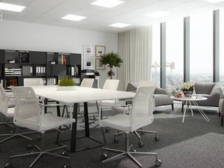 Kantor & Toko Modern Oleh Pracownia projektowa artMOKO Modern