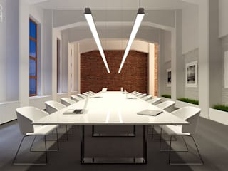 Pracownia projektowa artMOKO Oficinas y comercios de estilo moderno