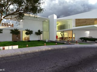 Casa CH 1 arquitecto9.com Casas modernas