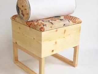 Kimono Stool OFFCUT BERLIN WohnzimmerHocker und Stühle