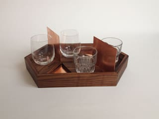 Copper tray OFFCUT BERLIN EsszimmerAccessoires und Dekoration