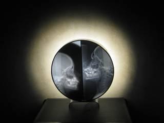 Lampe ronde par Anatomik Éclectique