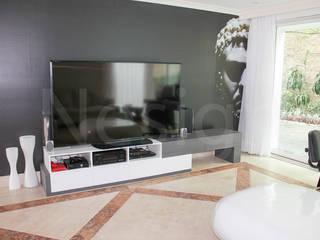 Muebles casa habitacion:  de estilo  por Nesign - Diseño y fabricación de muebles.