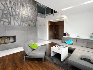 Living room by Pracownia projektowa artMOKO, Modern