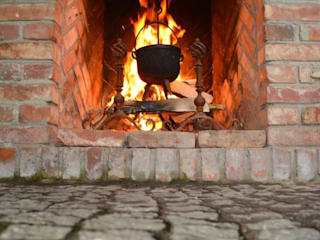 Kuchnia w Ogrodzie의  베란다