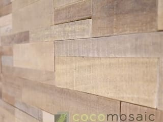 Cocomosaic | Envi Brick:  Woonkamer door Nature at home | Cocomosaic | Wood4Walls, Modern