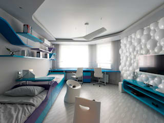 Михаил Новинский (MNdesign) Modern nursery/kids room