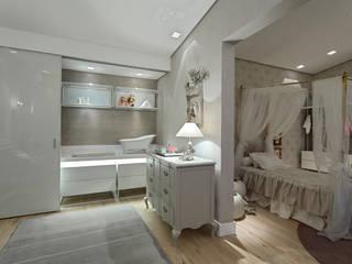 Chambre d'enfant de style  par Ana Paula Carneiro Arquitetura e Interiores,