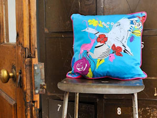 Blue Duck Cushion:   by stylechapel