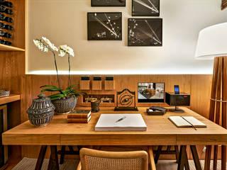 Bureau de style  par Ana Paula Carneiro Arquitetura e Interiores,