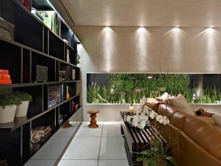 Salon de style  par Ana Paula Carneiro Arquitetura e Interiores,