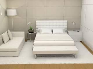 Chambre de style  par Ana Paula Carneiro Arquitetura e Interiores,