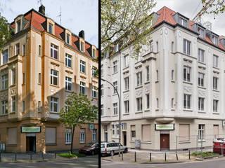 Sanierung der Gründerzeitfassade:   von m_b architektur