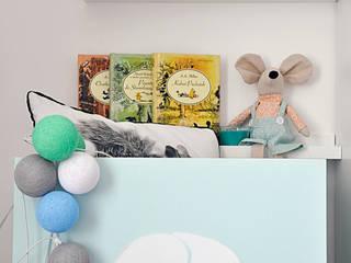 Skrzynka na kółkach od Artist's Workshop Anna Biardzka-Giza Skandynawski