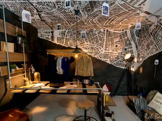 Estudios y oficinas de estilo minimalista por Nimeto Utrecht