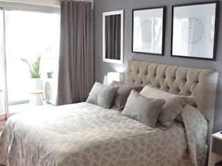 Camera da letto moderna di Nicolas Pierry: Diseño y Decoración de Interiores Moderno