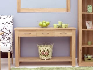 Our Mobel Oak Furniture range por Big Blu Furniture Moderno