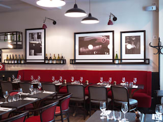Carton Rouge Gastronomie moderne par Agence Studio Janréji Moderne