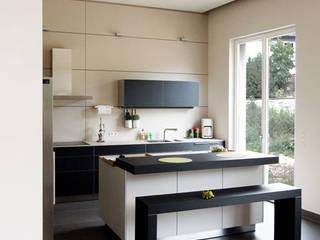 Haus M. in Greiveldange Moderne Küchen von morph4 architecture Modern