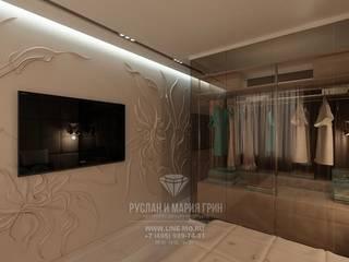 Cuartos de estilo ecléctico de Студия дизайна интерьера Руслана и Марии Грин Ecléctico