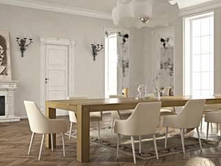 Drewniany stół w jadalni - Seed: styl , w kategorii Jadalnia zaprojektowany przez Le Pukka Concept Store