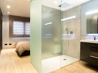 浴室 by Empresa constructora en Madrid