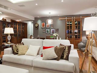 Living room by Mundstock Arquitetura, Modern
