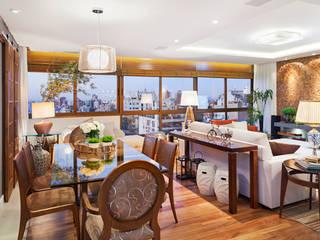 Modern dining room by Mundstock Arquitetura Modern