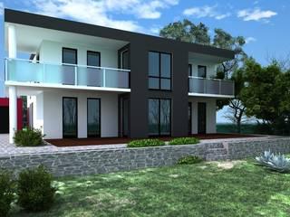 Architektenhaus Moderne Häuser von Siegerland Massivhaus GmbH&Co.KG Modern