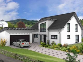 Landhaus vollunterkellert Moderne Häuser von Siegerland Massivhaus GmbH&Co.KG Modern