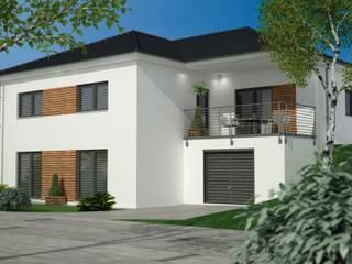 Bungalow vollunterkellert Moderne Häuser von Siegerland Massivhaus GmbH&Co.KG Modern